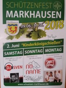 Schützenfest Markhausen 2018