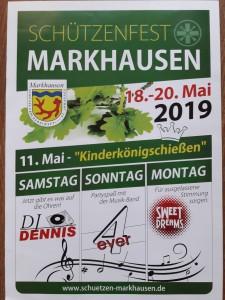 Schützenfest 2019 Plakat